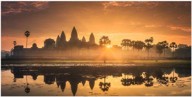 Cambodia in January and February