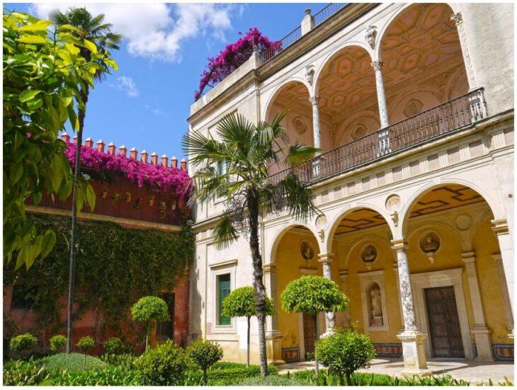 Garden Courtyard - Casa de Pilatos (kkmarais)