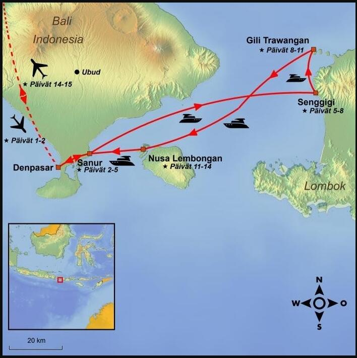 ISLAND JUMPING IN INDONESIA