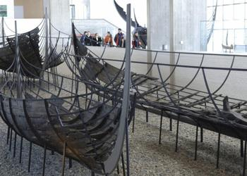 VIKING SHIP MUSEUM IN ROSKILDE